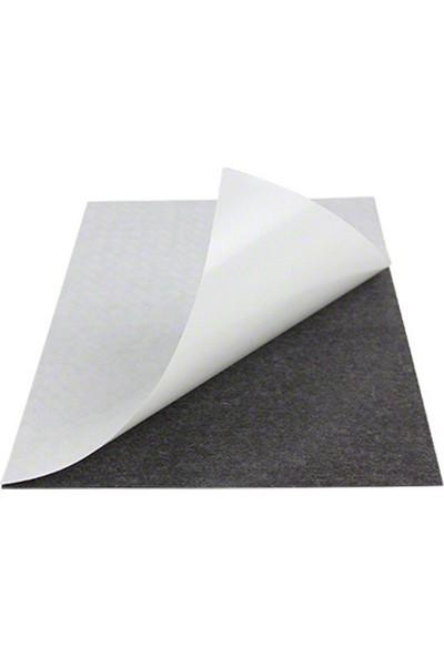 Dünya Magnet Yapışkanlı Levha Mıknatıs - Arkası Çıkartmalı Magnet Mıknatısı 0,5 mm