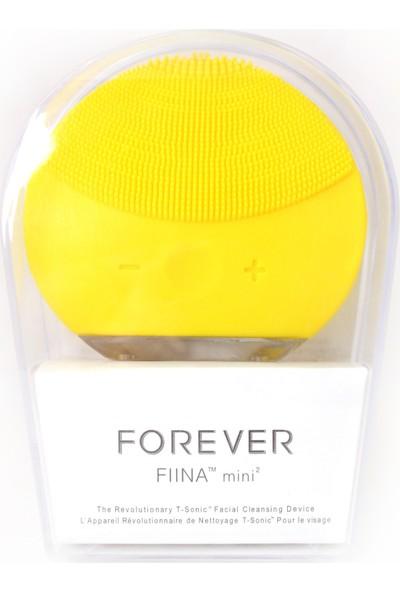 Forever Yüz Temizleme Şarzlı Silikonlu Titreşimli Masaj Aleti Sarı