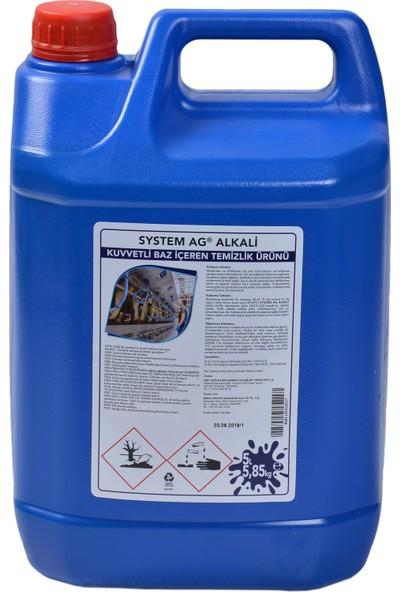 Birka System Ag Alkali Temizlik Ürünü 5 Lt