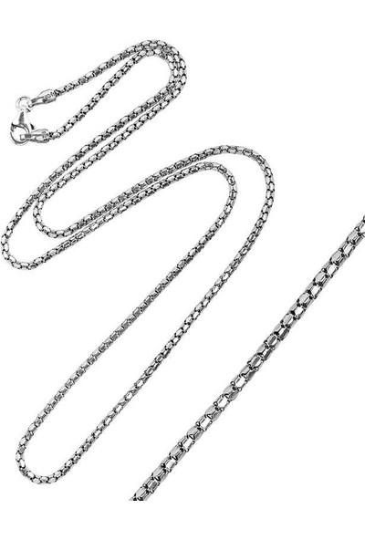 Pirmoda 641 Oksitli Erkek 925 Ayar Pirmoda Gümüş Zinciri
