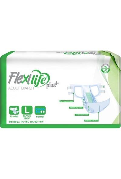 Flexilife Plus+ Hasta Bezi Bağlamalı Large 30'lu