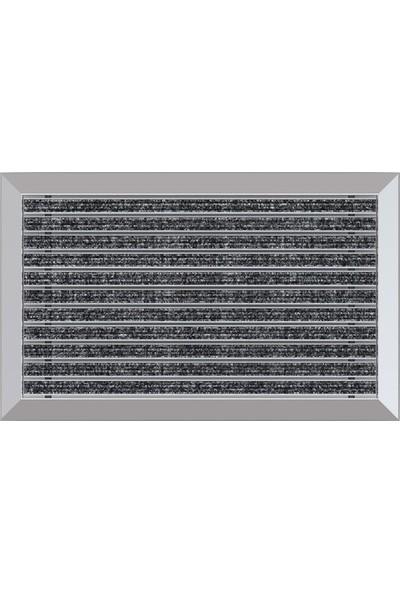 Arfen Halı Üst Yüzeyli Alüminyum Gri Paspas 60 x 120 cm