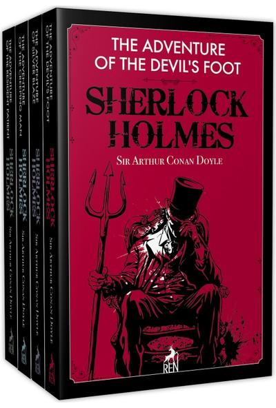 Sherlock Holmes İngilizce Kitapları Seti (4 Kitap Takım)