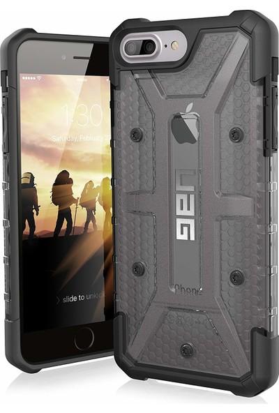UAG Plasma Apple iPhone 8/7/6S Plus Kılıf - Kül Saydam