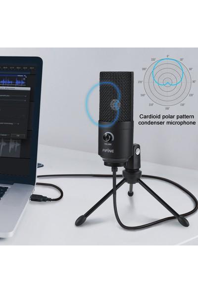 Fifine K669B Profesyonel Stüdyo Kayıt Mikrofonu
