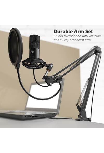 Fifine T669 Profesyonel Stüdyo Kayıt Mikrofon Seti