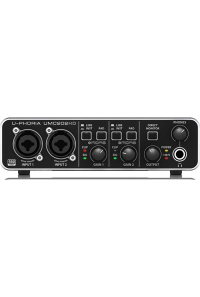 Behringer U-Phoria Studio Pro Stüdyo Kayıt Paketi (C-1 Kondenser Mikrofon + UMC202HD Ses Kartı + HPS5000 Stüdyo Kulaklık)