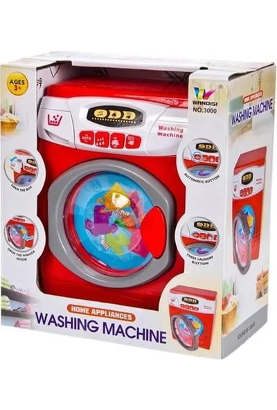 Karsan Pilli Sesli Oyuncak Çamaşır Makinesi - 3000