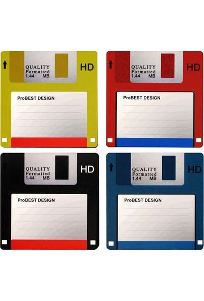 ProBest Design Disket Bardak Altlığı Seti