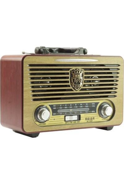 Meier M-115BT BT/FM Nostaljik Radyo