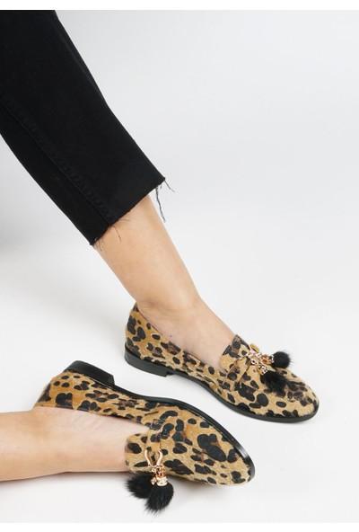Marjin Afela Düz Ayakkabı