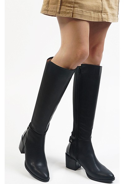 Marjin Aret Topuklu Çizme