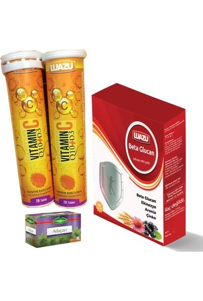 Luazu Aile Kış Seti - Beta Glucan Vitamin C CO-Q10 Vit.d3