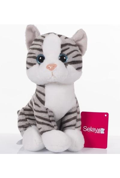 Selay Toys Kedi 28 cm Peluş Oyuncak
