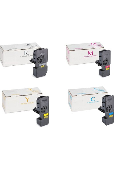 EmgeToner Utax 2155 / PK-5014 4 Renk Set Cmyk Çipli Muadil Toner