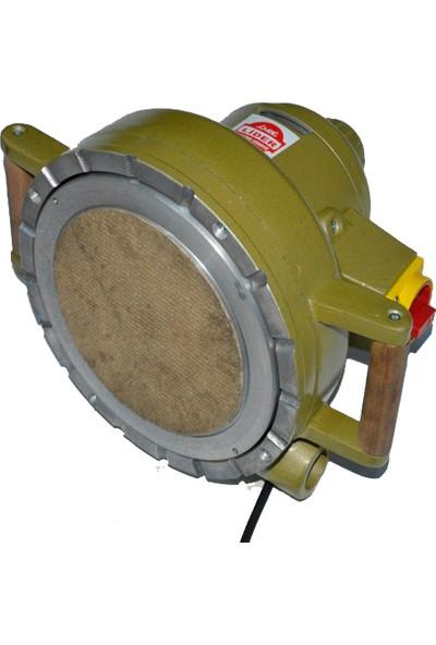 Lider 200 mm Taban Çaplı 220 V Monofaze Tepsi Zımpara Motoru