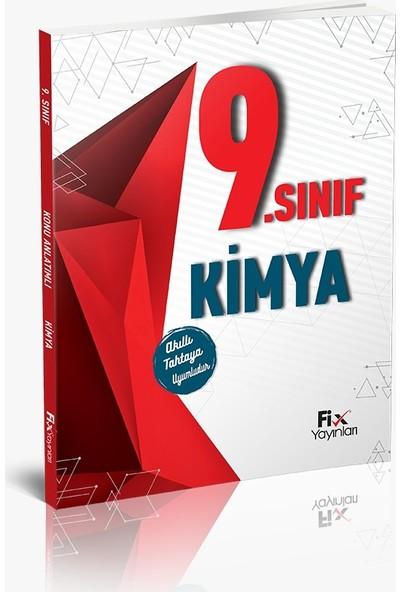 Fix Yayınları Kimya 9. Sınıf