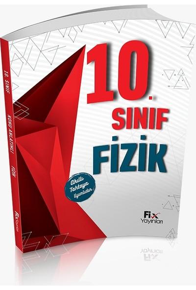 Fix Yayınları Fizik 10. Sınıf