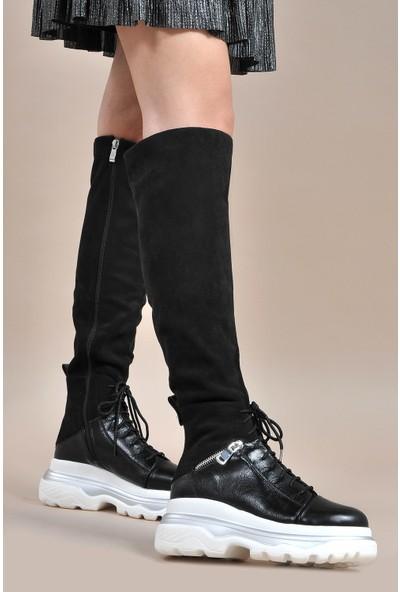 Vizon Kadın Siyah Çizme VZN19-151K
