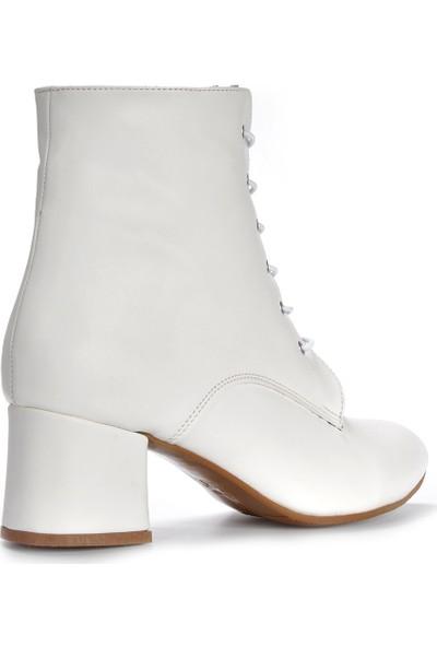 Vizon Kadın Beyaz Bot VZN19-154K