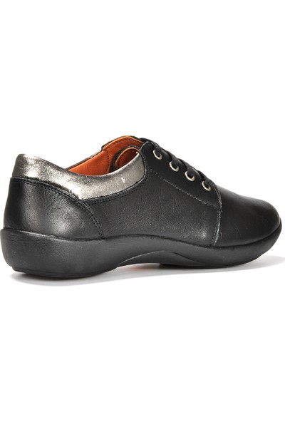 Vizon Kadın Siyah Günlük Ayakkabı VZN19-155K