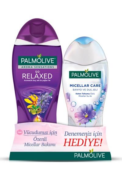 Palmolive Aroma Sensations So Relaxed Aromatik Duş Jeli 500 ml + Micellar 250 ml