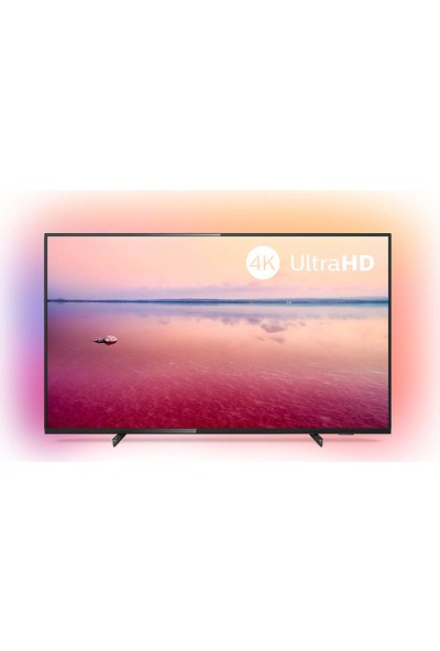 "Philips 50PUS6704/62 50"" 127 Ekran Uydu Alıcılı 4K Ultra HD Smart LED TV"