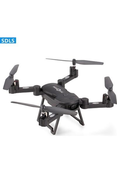 Tech Drone LH-X24 Wifi Kameralı Kumandalı Drone Katlanır Portatif