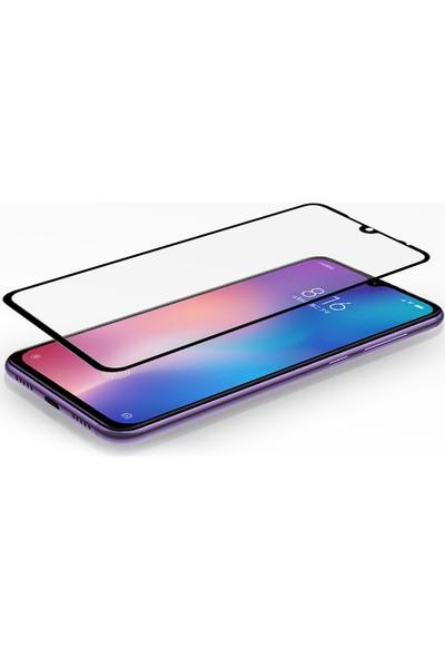 Enes GSM Xiaomi Mi 9 Se 9D Temperli Ekran Koruyucu Siyah