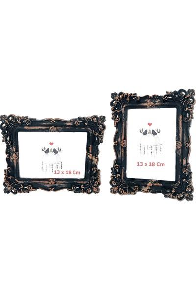 Moniev Fotoğraf Çerçevesi Masaüstü Siyah Çerçeve 13 x 18 cm