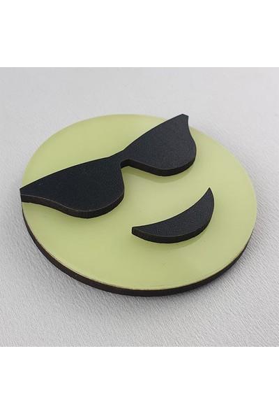 Faami Style Emoji Fosforlu Emoji Duvar Süsü