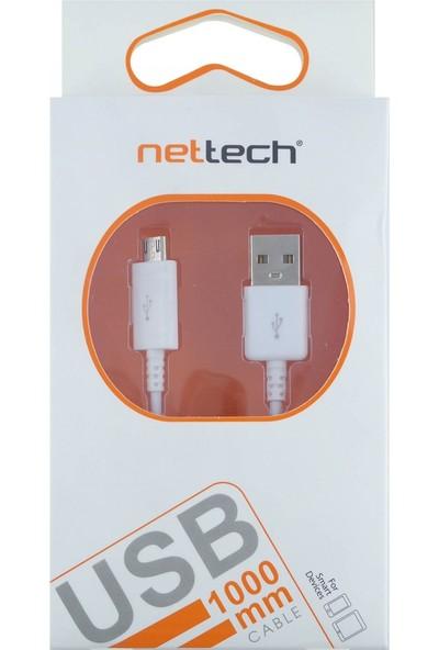 Nettech NT-114 Micro USB Data ve Şarj Kablosu