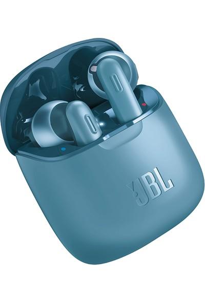 JBL Tune T220 TWS Bluetooth Kulaklık - Mavi