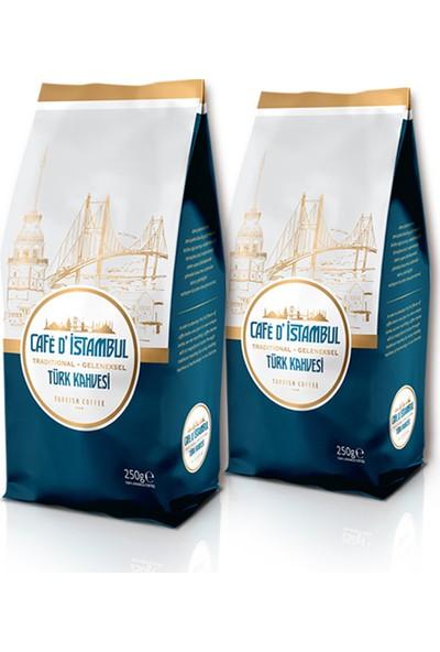 Café D' Istambul Öğütülmüş Türk Kahvesi