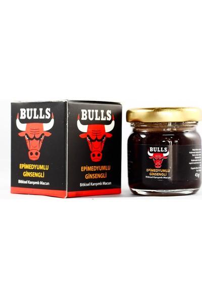 Bulls Epimedyumlu Ginsengli Macun 40 gr