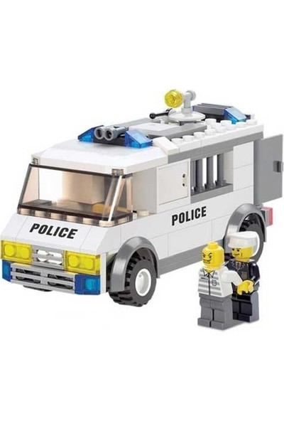 Furkan Toys Polis Blok Seti - 135 Parça