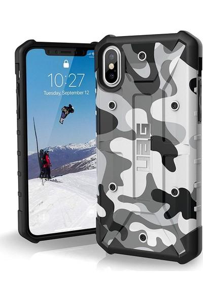 UAG Camo Apple iPhone XS/X Kılıf - Beyaz