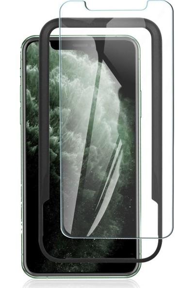 Toucan Apple iPhone 11 / iPhone XR Temperli Cam Ekran Koruyucu Kolay Kurulum 9h Slim Hd