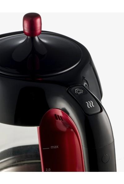 Arçelik K 8025 Cam Gövdeli Çay Makinesi Lal Serisi