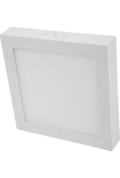 Led Pazarı 24 W Sıva Üstü Kare Panel LED Spot Armatür
