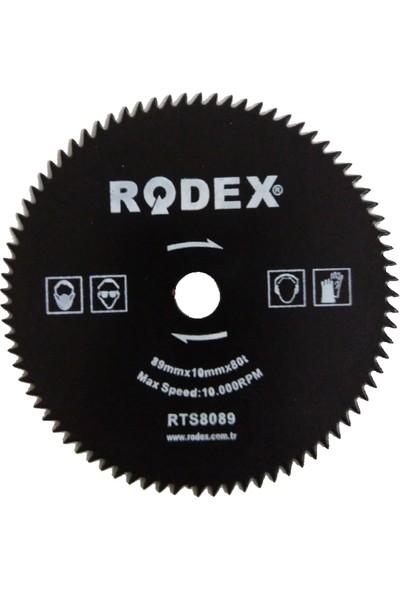 Rtrmax Rtm 110 Mini Daire Testere Yedek Bıçağı Metal Hss 89 mm