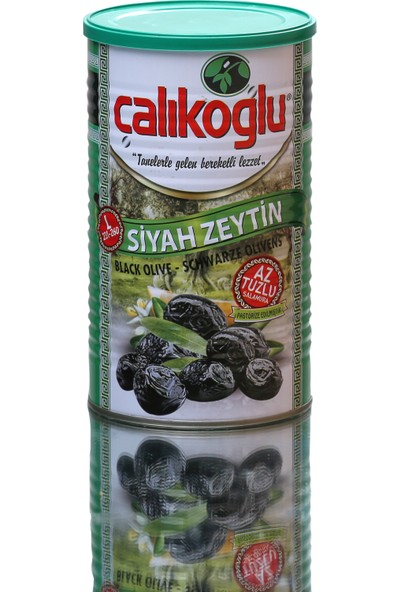 Çalıkoğlu Doğal Az Tuzlu Özel Özel Zeytin (Yeşil) 800 gr / 231-260 (L)