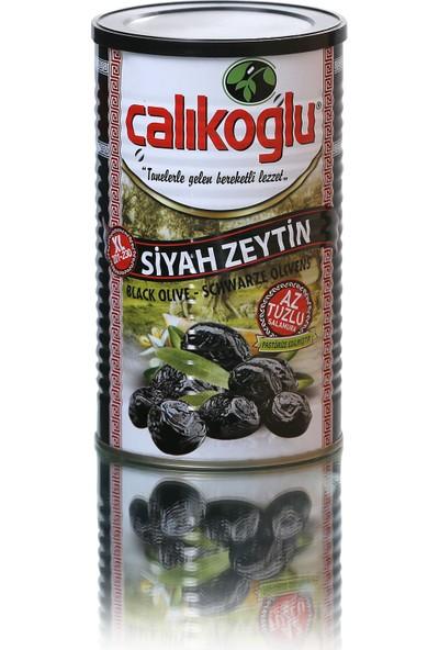 Çalıkoğlu Doğal Az Tuzlu Duble Siyah Zeytin 800GR / 201-230 (Xl)