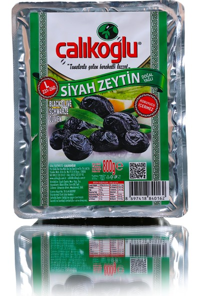 Çalıkoğlu Özel Özel Zeytin 800 gr / 231-260 (L)