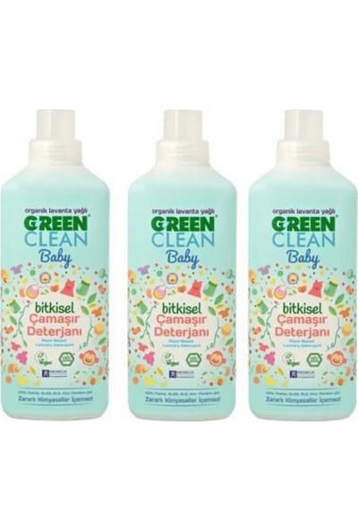 U Green Clean Baby Bitkisel Çamaşır Deterjanı 3'lü 1 Lt