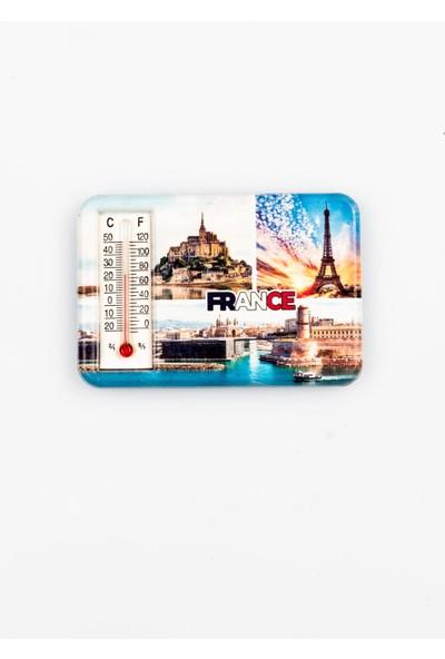 Dünyadan Hediyeler Fransa Temalı Dereceli Magnet