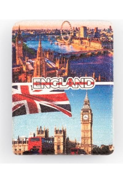 Dünyadan Hediyeler İngiltere Temalı Taş Magnet