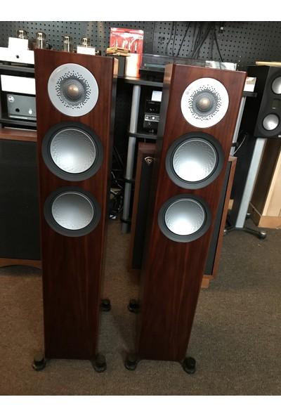 Monitor Audio Silver 200 Kule Tipi Hoparlör - Kahverengi