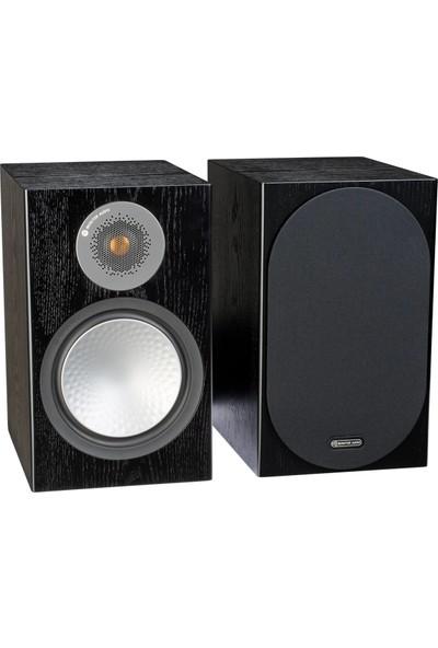 Monitor Audio Silver 100 Siyah Raf Tipi Hoparlör - Mat Siyah