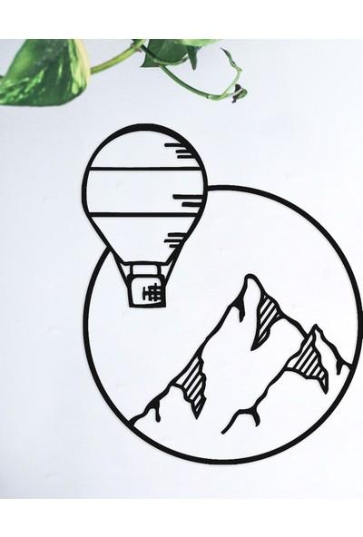 LİVİQN Fly Hing - Balon Metal Decor
